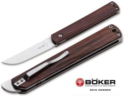 Couteau Pliant Wasabi Cocobolo De Boker Type Higonokami