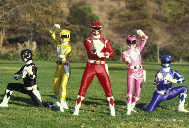 Mighty Morphin' Power Rangers promo shot