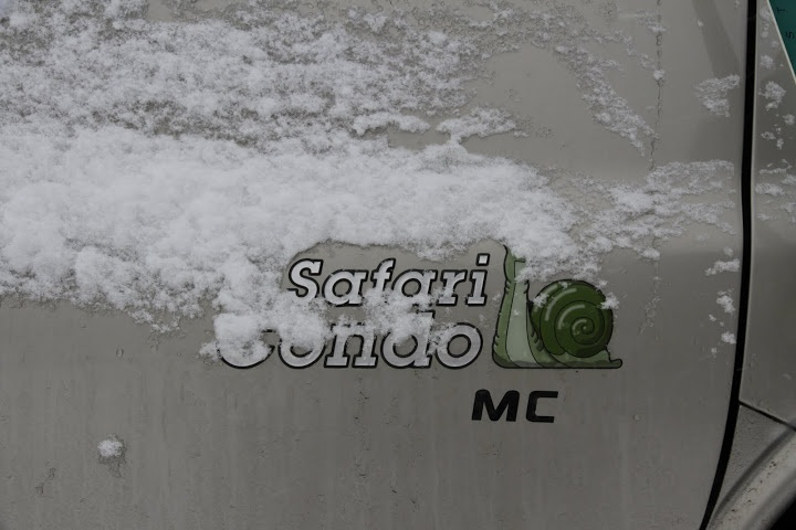 Un Safari Condo d'hiver!
