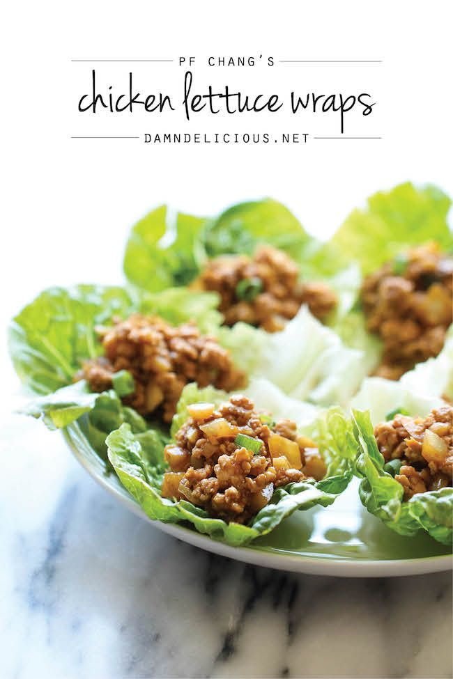 My Sister's Kitchen: PF Chang's Lettuce Wraps