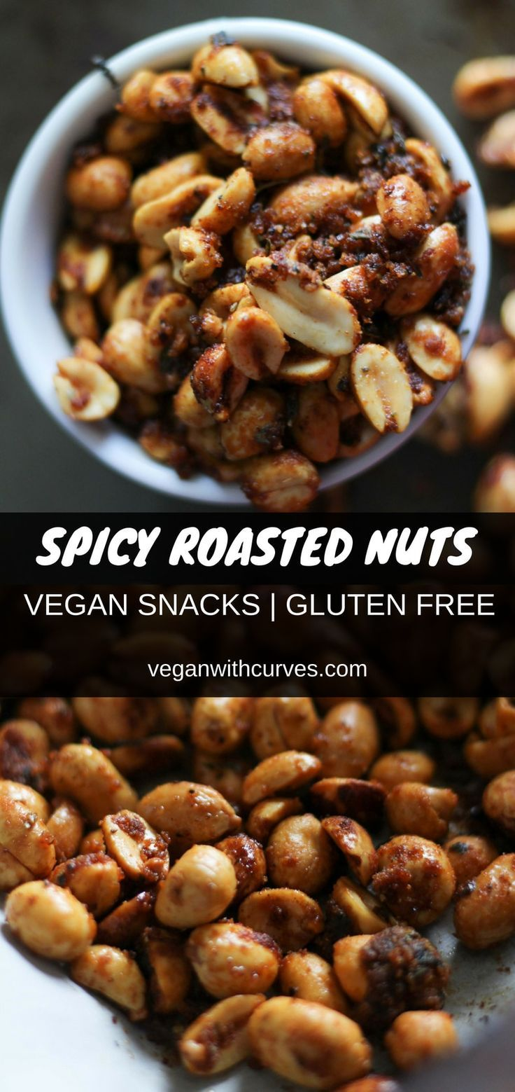 5 Ingredient Spicy Roasted Nuts