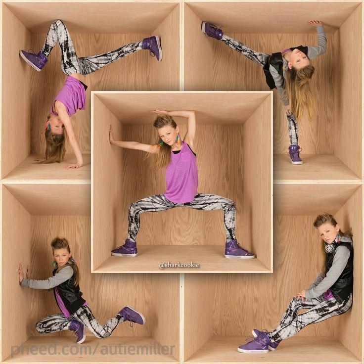 "Auttie Miller #danceidol ""In a Box"" photo shoot with Shark cookie!"