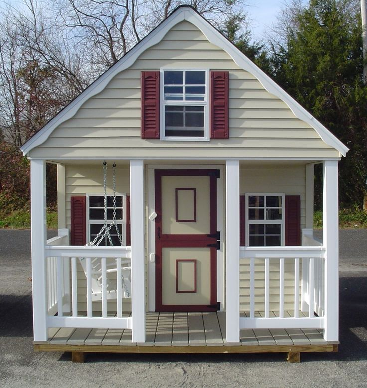 25 best kids outdoor playhouses ideas on pinterest kids Outdoor playhouse for sale used