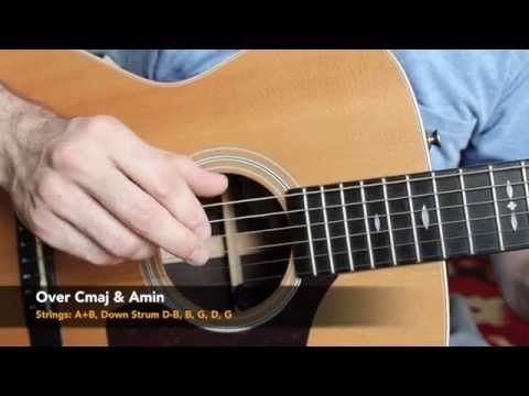 Acoustic Finger Style Guitar Lesson - Five Folk Finger Picking Patterns - YouTube