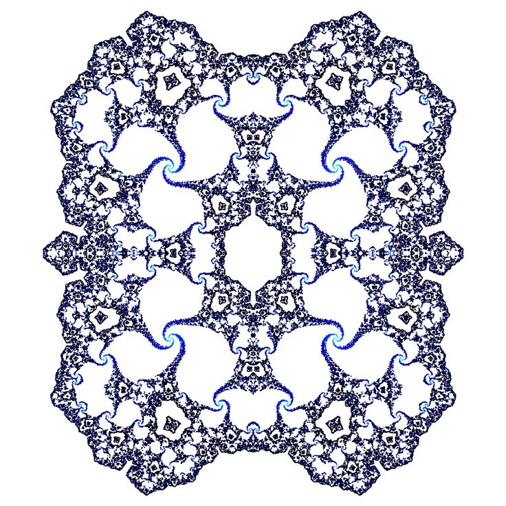 A pure Julia-set created using the abs2-function from the burning ship fractal where abs2(z) = abs(a) + abs(b)*i