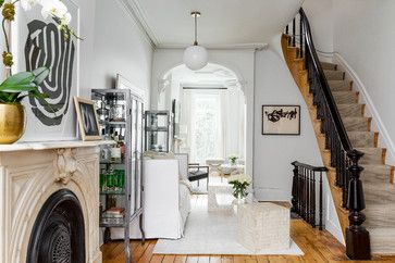 Small Spaces, Big Moments || Park Slope Townhome - Living Room || Chango & Co.