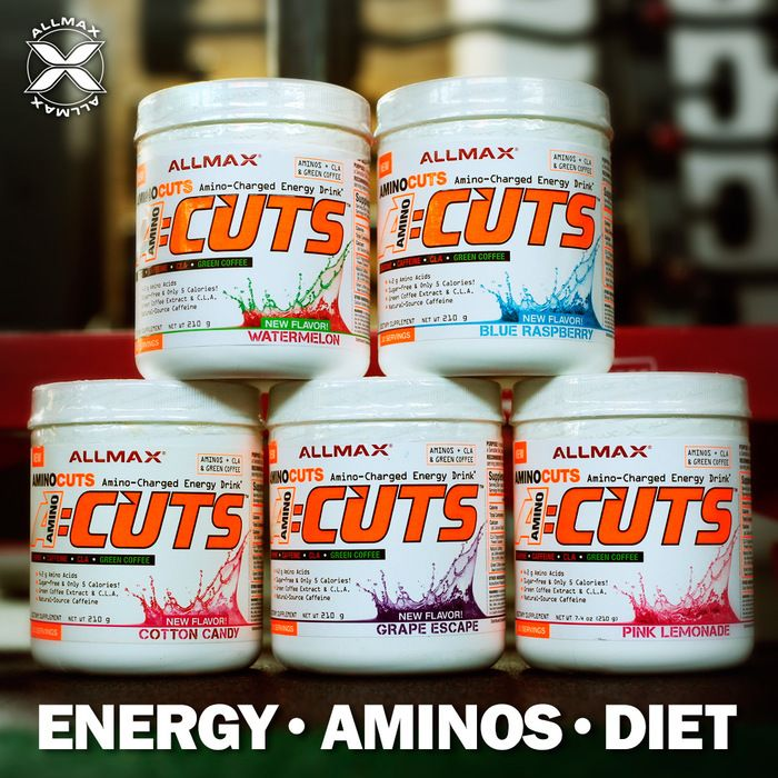 What is your favorite #ACUTS flavor from the bunch? If you don't already know, #ACUTS provides you with energy to burn! Fortified with Natural-Source Caffeine, Green Coffee extract, and CLA, this pre-workout will supercharge your training with the added benefit of focused fat loss.  A quick & delicious choice of 8 mouth-watering flavors. And the all-new 75 serving jumbo size in Goji Berry Martini and Blue Raspberry!