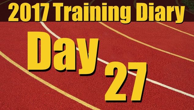 2017 Training Diary: Day 27 – 1km Intervals