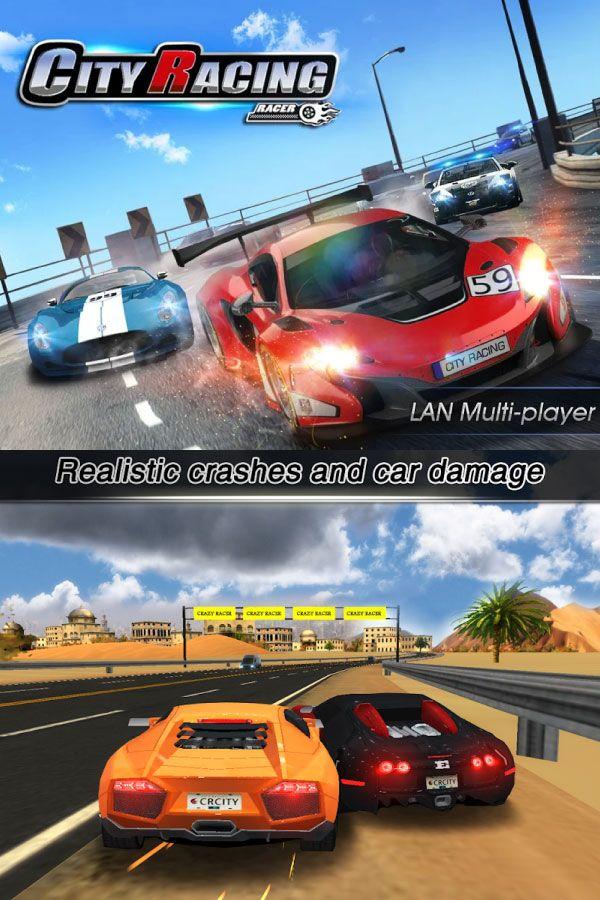 City Racing 3d Apk Mod Dinero Ilimitado Juegos De Carreras Carreras Juegos Para Moviles