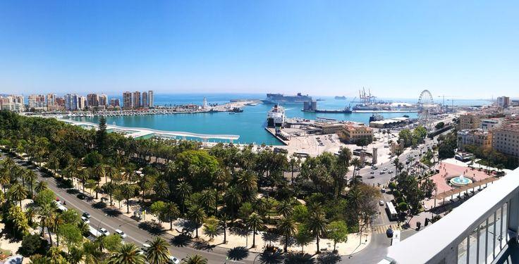 Malaga, AC HOTEL, Malaga Port, Costa del Sol, Andalucia, Spain