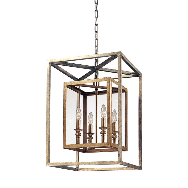 Morgan Four Light Lantern Pendant Troy Lighting Ceiling