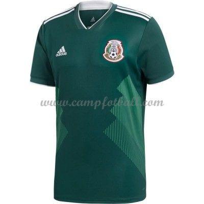 Billige Fotballdrakter Mexico VM 2018 Hjemme Draktsett