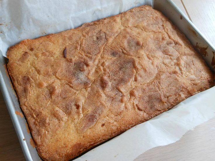 Dit is de lekkerste cake die ik ooit heb gegeten. Echt, de lekkerste die ik ooit heb gegeten. Je zou misschien denken, cake is cake, wat kan daar nou zo bijzonder aan zijn. Nou, ik weet ook niet ho…