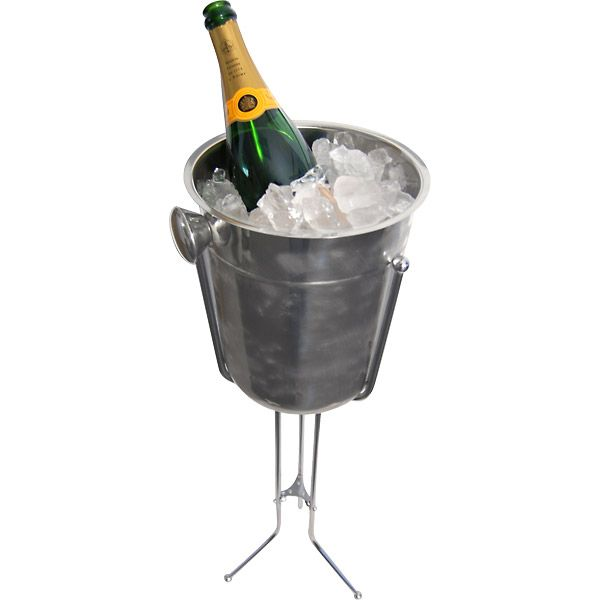 Champagne & Wine Bucket with Stand - kegworks