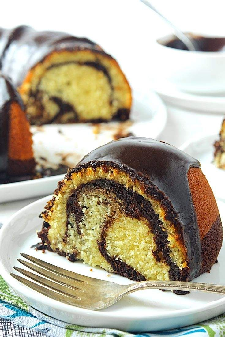 Black and White Pound Cake Recipe