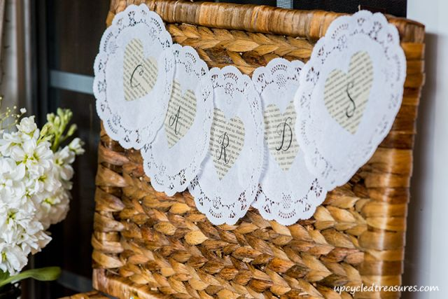 Our Rustic and Romantic Handcrafted Wedding - Check out our whimsical and romantic wedding decorations which were all handcrafted. DIY rustic chic wedding