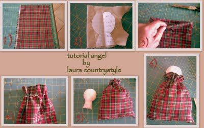 TUTORIAL ANGEL BY LAURA COUNTRYSTYLE