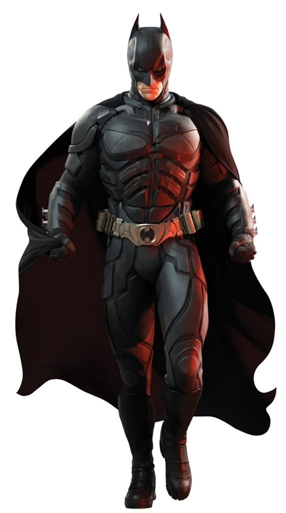 The Dark Knight's new suit