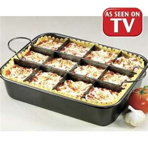 The Perfect Lasagna Pan Very Cool To Separate Leftovers