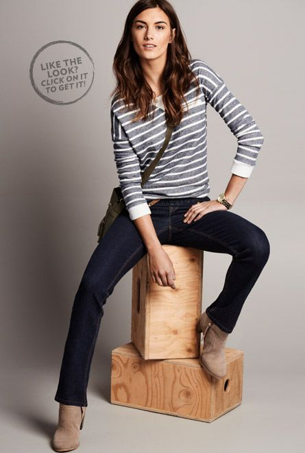 Reitmans Original Comfort Collection: featuring stretch jeans at their best. Buy jeans online today.