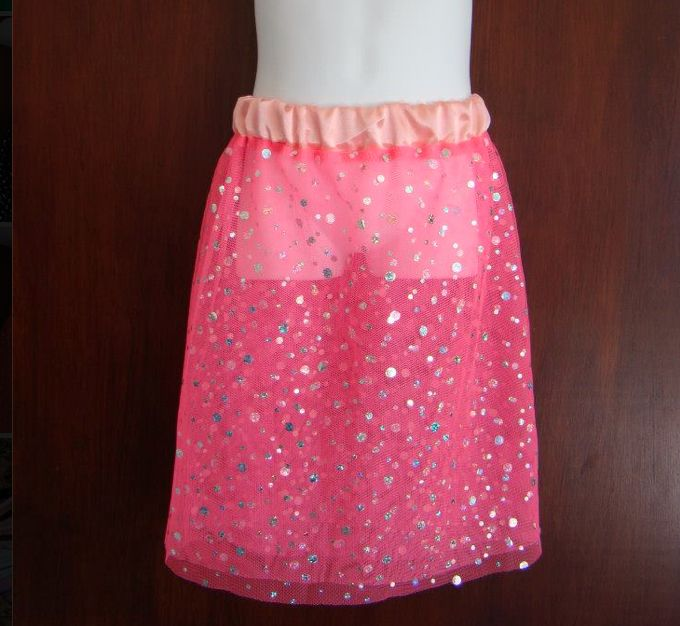 Fairy Skirt in pink by Libbydid.