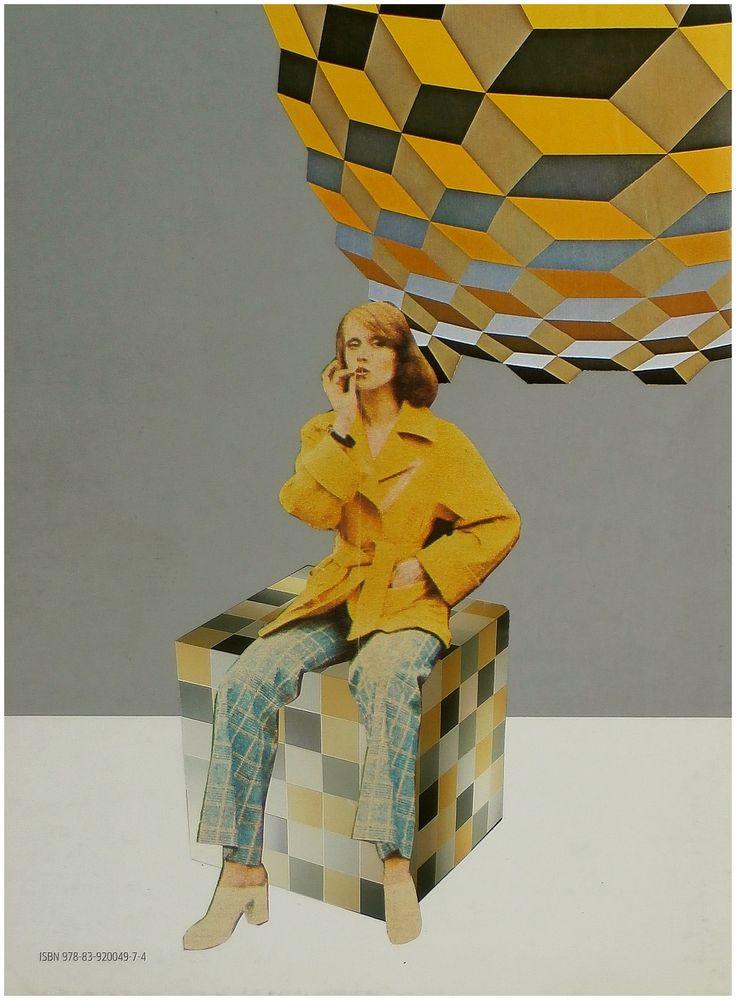 Myślokształty, [collage 29 x 21 cm], 2011