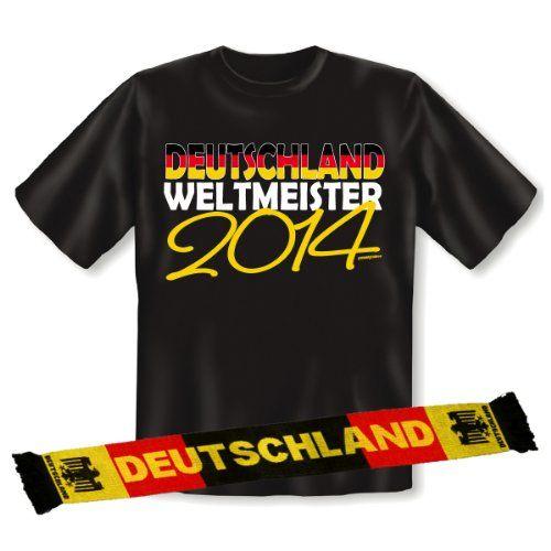 """Tolle Fanartikel zur Fußball-WM 2014, wie """"2-teiliges Fanartikel Set zur WM Party 2014 Fußball - Fan T-Shirt: Deutschland Weltmeister 2014 und Fanschal zur WM EM 158x18 cm : )"""" jetzt anschauen: http://fussball-fanartikel.einfach-kaufen.net/schals-tuecher/2-teiliges-fanartikel-set-zur-wm-party-2014-fussball-fan-t-shirt-deutschland-weltmeister-2014-und-fanschal-zur-wm-em-158x18-cm/"""