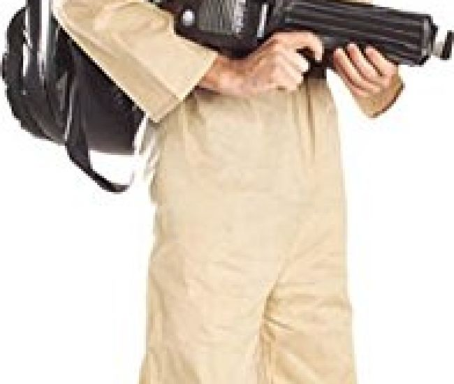 One of the best geek franchises around and alco one of the best fancy dress costumes you could ever wear. So get your geek on and go bust some ghosts with this fantastic halloween costume. Comes with grey jumpsuit and inflatable backpack.