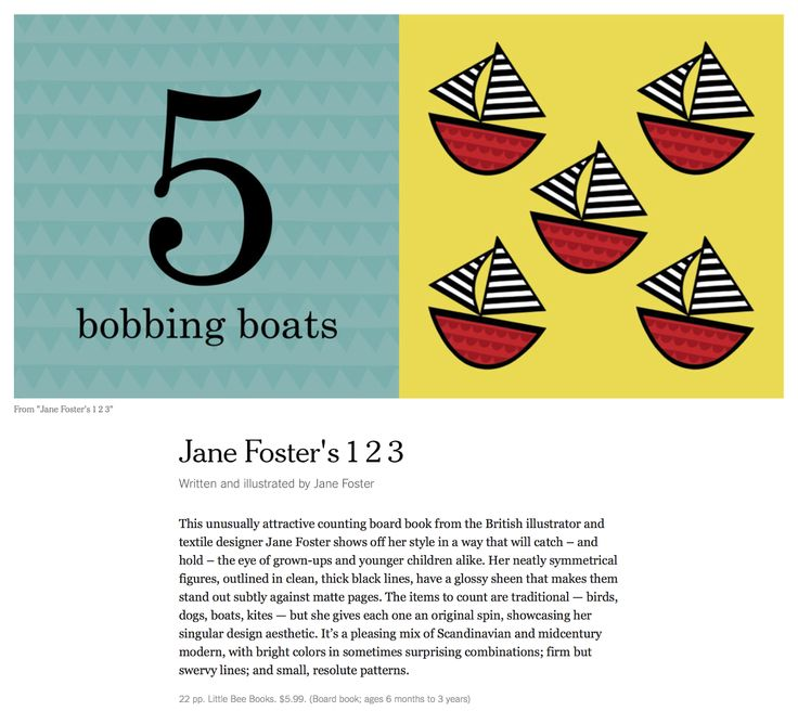 Jane Foster Blog: The New York Times have reviewed my new books - Jane Foster's 123 and ABC