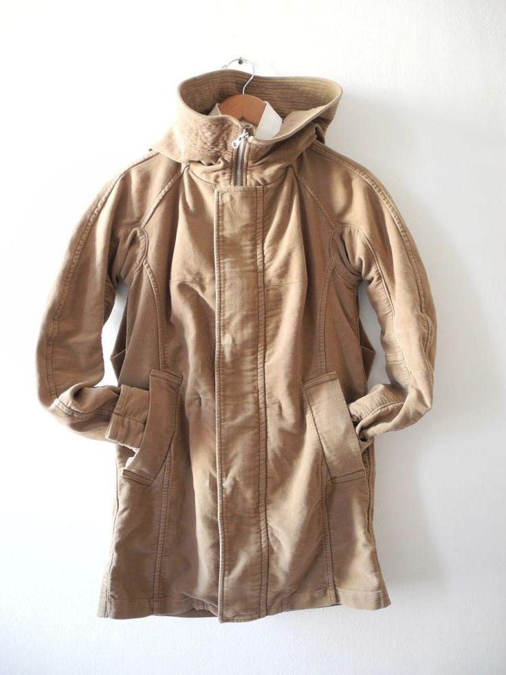 Zucca Japan Moleskin Parka Anorak Jacket Coat