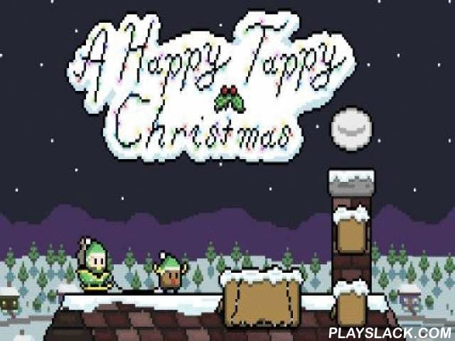 A Happy Tappy Christmas 1  Android Game - playslack.com , aid an amusing elf and other heroes consign Christmas presents on a flying deer vehicle. enhance your reaction speed and finger speed in this entertaining game for Android. The conqueror rushes on on the flying vehicle with a deer. Tap the screen to control the elevation of the conqueror. Don't mangle into flues or go through aerosol to go for longer. open brand-new characters like snowmen. Set records.