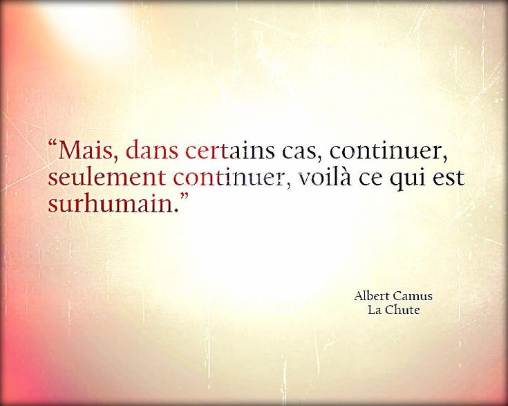 "Albert Camus ""La Chute"""