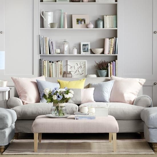 Pale grey family living room | Family living room design ideas | PHOTO GALLERY | Housetohome.co.uk