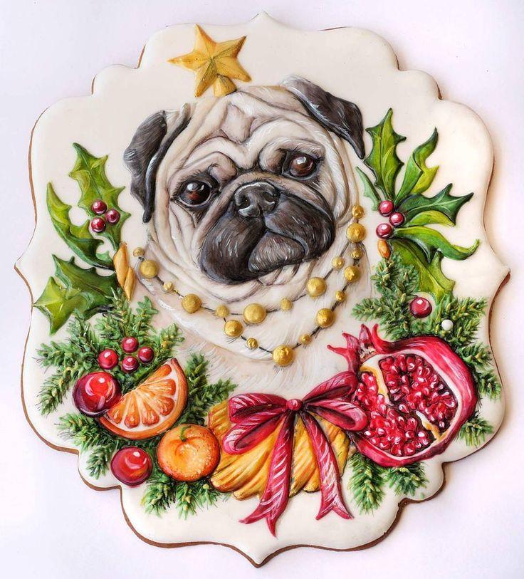 Звезда корпоратива ⭐ Одна из работ мастер-классов. Надеюсь вам полюбится эта новогодняя серия. 6 пород собак на выбор с рождественским венками в разных стилях. Выбирайте, совмещайте, и дарите эмоции. На МК вы получите иллюстрации (шаблоны) всех собак, которых я с любовью нарисовала для вас