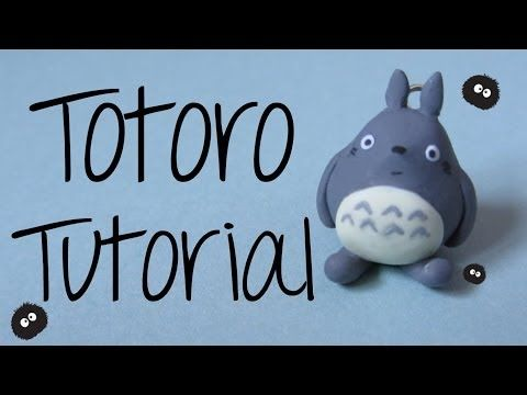 ▶ Totoro Polymer Clay Tutorial - My Neighbor Totoro