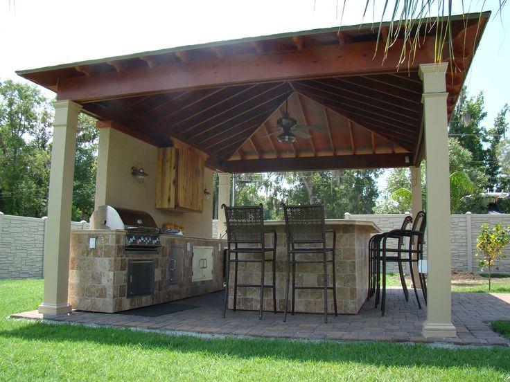 Terrific White Holz Pergola Decke Dach über Midcentury …   – Kelly newswanger