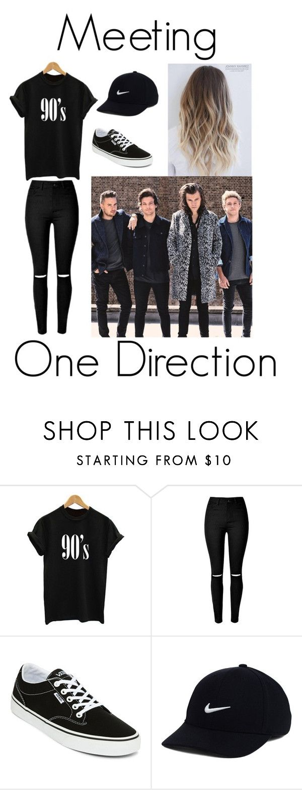 """Meeting One Direction"" by gcdonuts on Polyvore featuring Vans and NIKE"