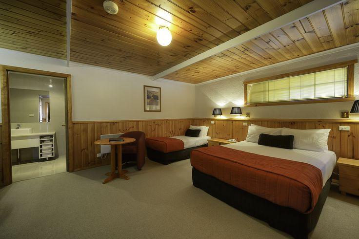 Spacious modern rooms