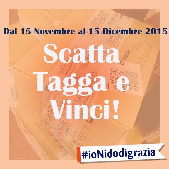 SCATTA - TAGGA -VINCI Facile vero? #IoNidodigrazia! http://ndgz.it/ionidodigrazia  #contest #foto #mamme #famiglia #bambini #papà #nonni #concorsi