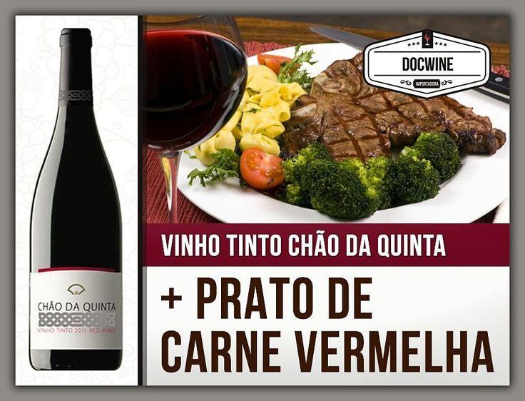 VINHO TINTO CHÃO DA QUINTA  _____________________________  VINHO TINTO: Chão da Quinta  REGIÃO: Douro.  CASTAS: Touriga Nacional e Tinta Roriz. Este vinho foi produzido através de vinhas com cerca de 16 anos.  GASTRONOMIA: Acompanha pratos de carnes vermelhas e assados.  NOTA DE PROVA: Cor rubi profunda com nuances violeta. Elegante denotam-se desde logo as notas de frutos vermelhos bem maduros ameixa e amora casados com um leve toque de pimenta preta cacau e baunilha.  TEOR ALCOÓLICO: 145%…