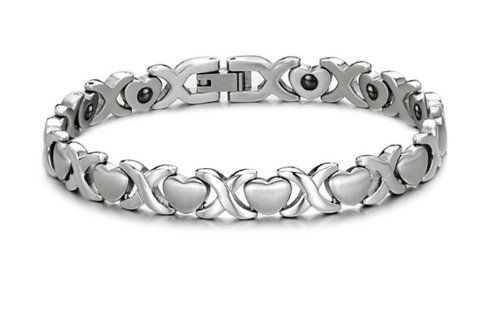 Brand New Lady's Titanium Magnetic Bracelet Anti-fatigue Anti-radiation in a Nice Gift Box SunnyHouse. Save 85 Off!. $29.99. Hematite, Anti-fatigue and Anti-radiation. Comes with a FREE Gift Box, 30-Day Money Back Guarantee. Titanium Steel, Laser Cutting and Polishing Technique