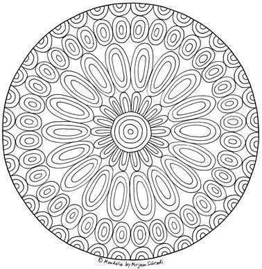 199 best mandalas zum ausdrucken f r kinder erwachsene images on pinterest art activities. Black Bedroom Furniture Sets. Home Design Ideas