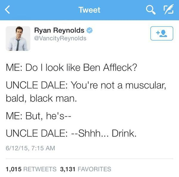 The Best Ryan Reynolds Twitter Ideas On Pinterest Ryan - Ryan reynolds politely responds to fans dirty tweets and its just hilarious