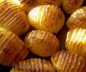 Ziemniaki pieczone po szwedzku  Pyza
