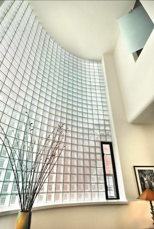 8 best images about circular windows on pinterest glass for Curved glass wall