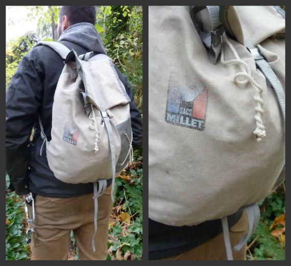 vintage millet rucksack