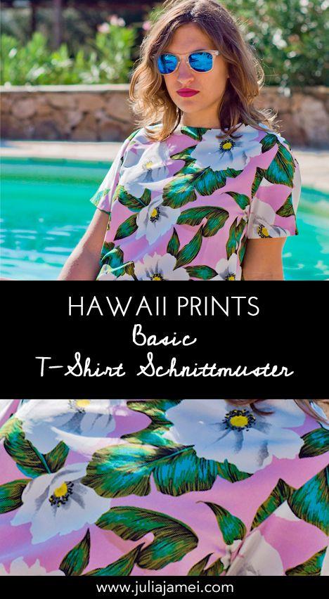 Blumen & Hawaii Muster: Oberteil für den Sommer nähen