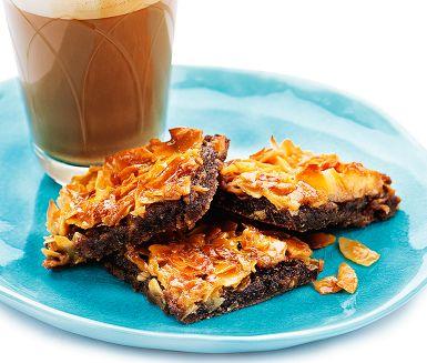 Recipe: Chocolate cake with coconut tosca