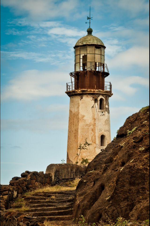 Cape Verde, Abandoned Lighthouse