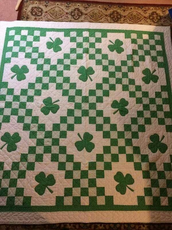Irish Quilting Patterns : 147 best images about St. Patrick s Day on Pinterest Saint patrick s day, Patrick o brian and ...